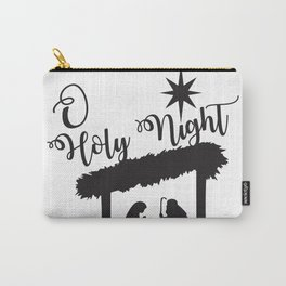 O Holy Night - Christmas Nativity Baby Jesus Carry-All Pouch