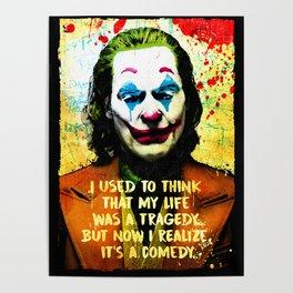Arthur Fleck Joker 2019 Joaquin Phoenix Poster