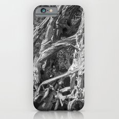 Abstract drift wood iPhone 6s Slim Case