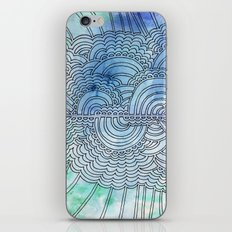 Water & Color Drawing Meditation iPhone & iPod Skin