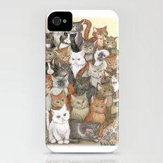 1000 cats iPhone (4, 4s) Slim Case