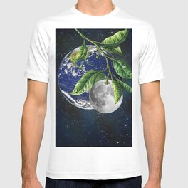Full moon and Earth T-shirt