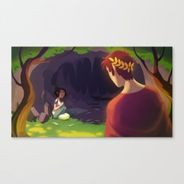 The Wild Swans - The Cave Canvas Print