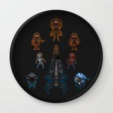 Mass Effect 2 Baddies Wall Clock
