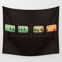 Ground Zero - Zombie Subway Wall Tapestry