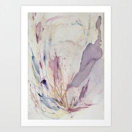 Floral Hints Art Print