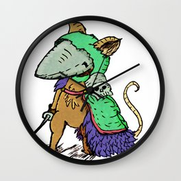 """""""Sir. Bartlegad of the 7th wing"""" Wall Clock"""