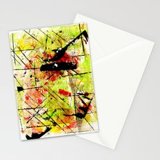In The Falling Rain Stationery Cards