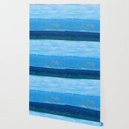 Coastal Wind Farm Wallpaper