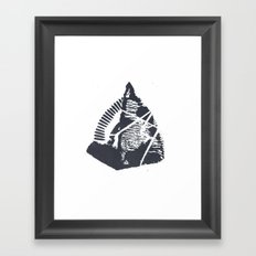 The Mountain Framed Art Print