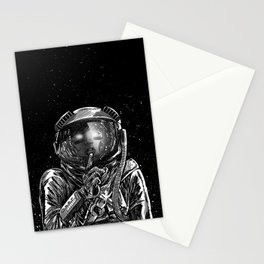 The Secrets of Space Stationery Cards