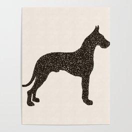Dog III - Great Dane Poster