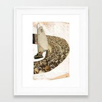 sail Framed Art Prints featuring Sail by WILL RHODES
