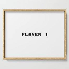 Player 1 Serving Tray
