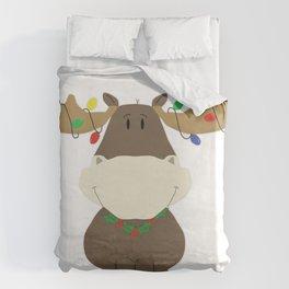 Merry Christmoose! Duvet Cover