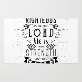 Psalm 37:39 Rug