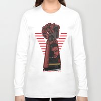 metal gear Long Sleeve T-shirts featuring Metal Power Gear by Akyanyme