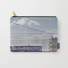 No 2 Subway Train, Passing by the South Bronx, NYC  Carry-All Pouch