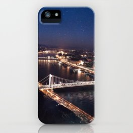 NIGHT TIME IN BUDAPEST iPhone Case