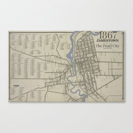 The Pearl City Canvas Print