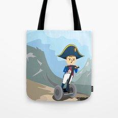Napoleon Segways the Alps Tote Bag