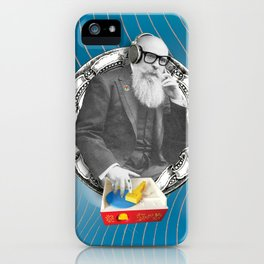 DJ Rick was determined to create beats no one had heard before. iPhone Case