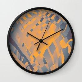 Nuclear Scarf Wall Clock