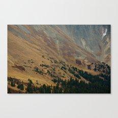 warm valley Canvas Print