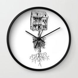 Petite Mort + Deep Breath Wall Clock