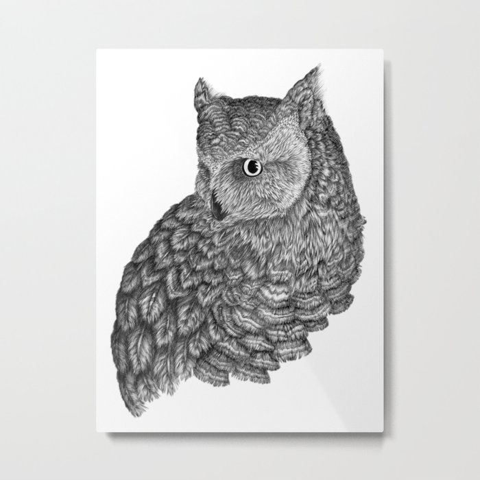 A Friend for Forsythe Metal Print