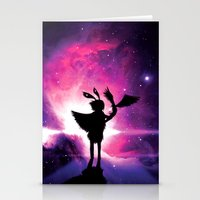universe Stationery Cards featuring Universe by Lunzury