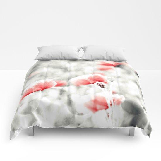 Poppy Poppies Mohn Mohnblume Flower Comforters