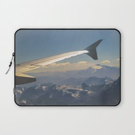 Chilean Andes Mountain Aerial View Laptop Sleeve