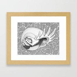 Prélude à la naissance de Vénus (Prelude to Venus' birth) Framed Art Print