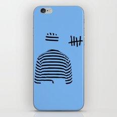 prison (blue ver.) iPhone & iPod Skin