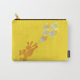 Orange Bunny Carry-All Pouch