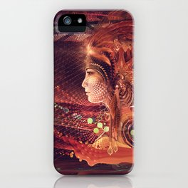 Shadow of a Thousand Lives - Visionary - Manafold Art iPhone Case