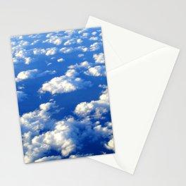 Blue Blue Sky by Lika Ramati Stationery Cards