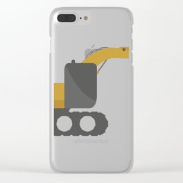 excavator Clear iPhone Case