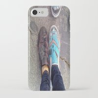 feet iPhone & iPod Cases featuring Feet by ClaireBearr