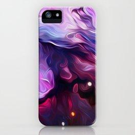 Wavy Galaxy iPhone Case