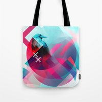 the xx Tote Bags featuring XX by NewFoundBrand
