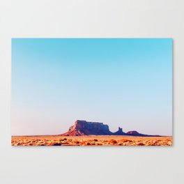 Collecting Shadows - Monument Valley Canvas Print