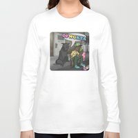 tyler the creator Long Sleeve T-shirts featuring Tyler, The Creator of Odd Future OFWGKTA by Donta Santistevan