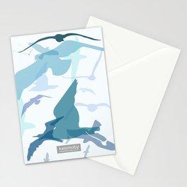 Seaside Birds Stationery Cards