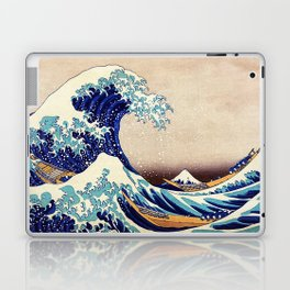 Great Wave Off Kanagawa Laptop & iPad Skin