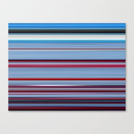 Falling Down - Swipe Canvas Print
