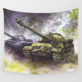 IS-3 Tanks Wall Tapestry