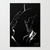 django Canvas Prints featuring Django by JessicaBader