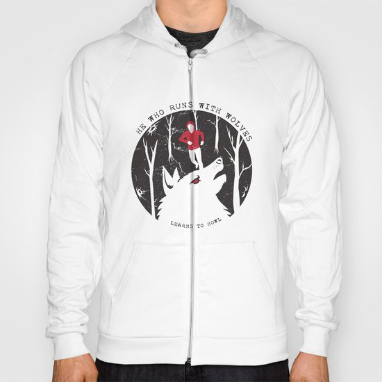 Sterek: He Who Runs With Wolves Hoody